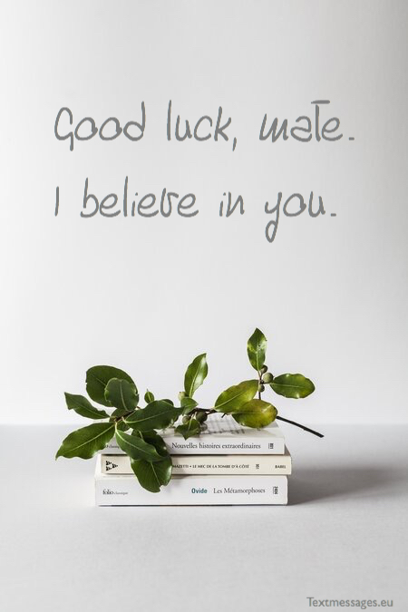 Success wishes for exams