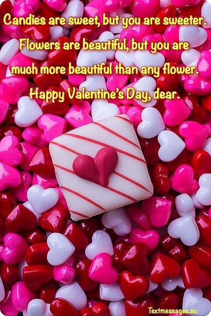 valentines day greeting for her