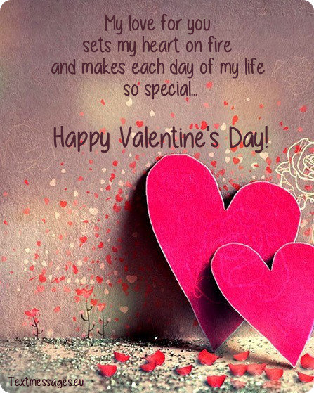 Top 50 sweet valentine 39 s day messages for him boyfriend for Quotes on valentine day