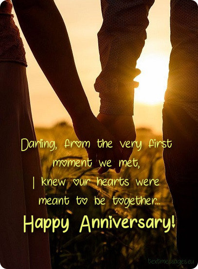 Cute Wedding Anniversary Wishes For Husband With Images