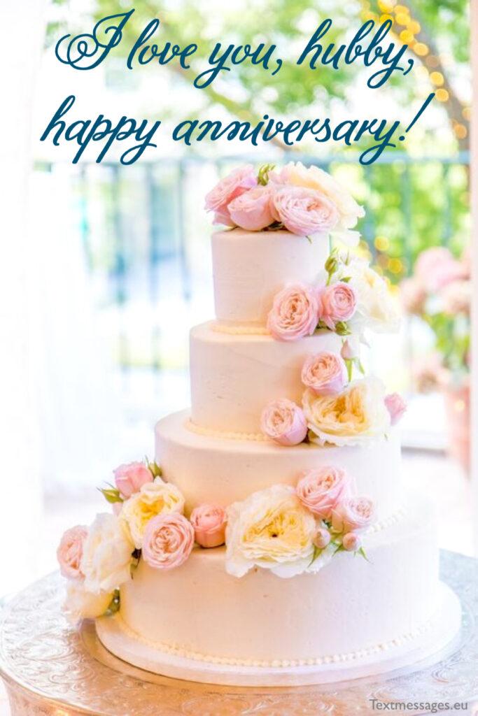 wedding anniversary card for husband