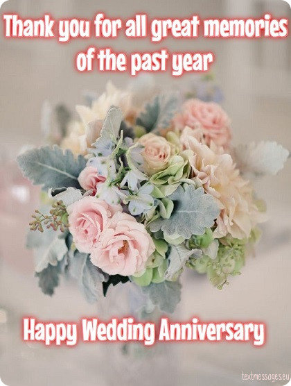 wedding anniversary card for wife