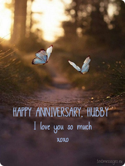 wedding anniversary ecard for husband