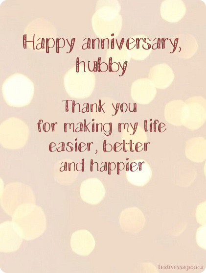 wedding anniversary ecard for husband