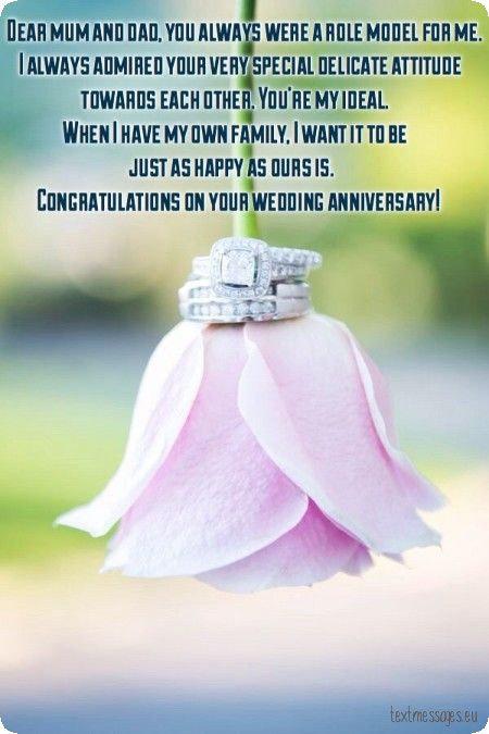 wedding anniversary for parents ecard