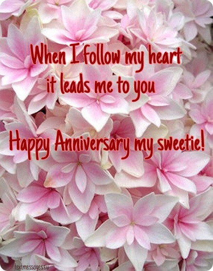 wedding anniversary greeting for wife