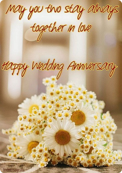 Happy anniversary messages to dear friends