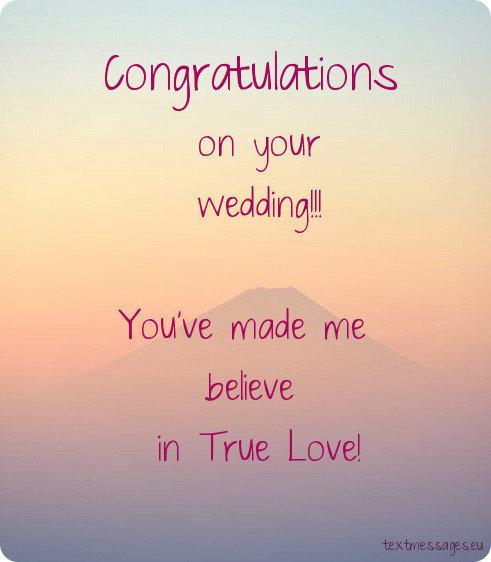 wedding card for friend