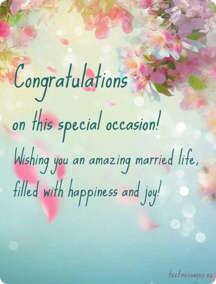 Top 70 wishes for newly married couple with images wedding greeting card congratulations m4hsunfo Choice Image